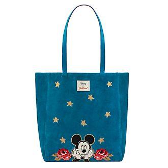 Cath Kidston x Disney bolso grande terciopelo Mickey Mouse