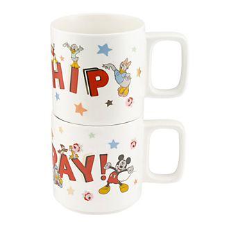 Cath Kidston x Disney tazas apilables Hooray Mickey Mouse