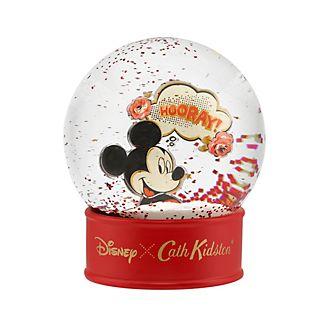 Cath Kidston x Disney Mickey Mouse Hooray Snow Globe