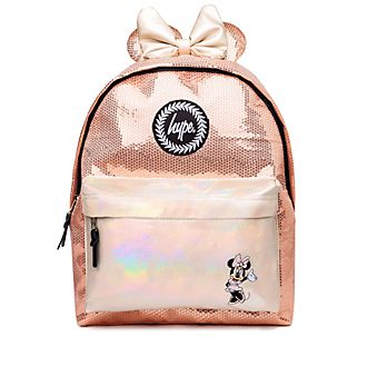 Hype Minnie Mouse Rose Gold Backpack