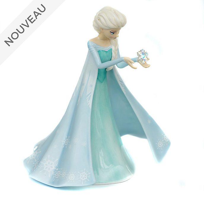 English Ladies Co.Figurine Elsa en porcelaine fine, La Reine des Neiges