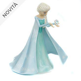 Personaggio in rilievo in porcellana Personaggio in porcellana fine Elsa Frozen - Il Regno di Ghiaccio