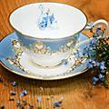 English Ladies Co. - Cinderella - Teetasse und Untertasse aus Porzellan