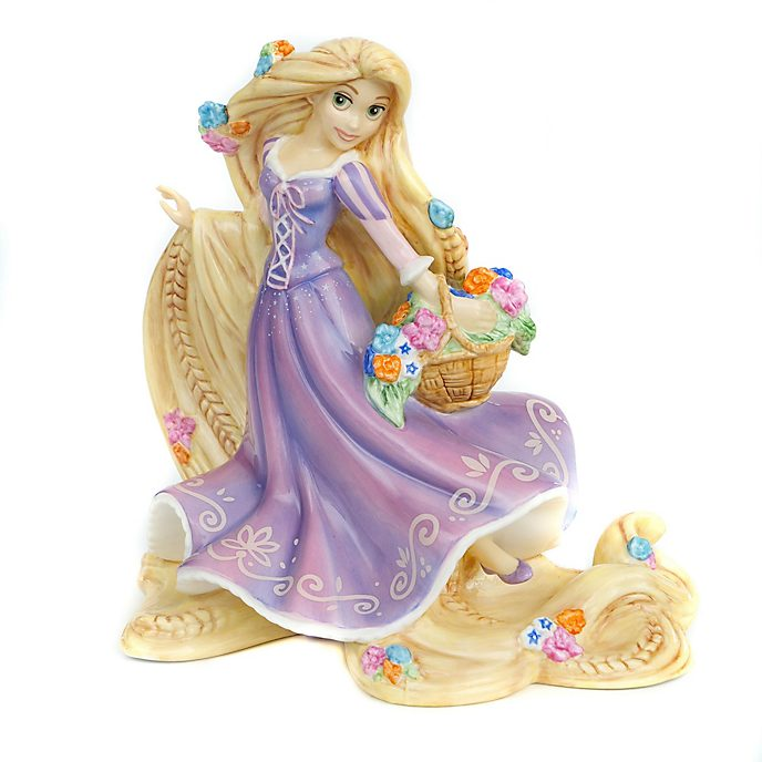 English Ladies Co. Figurine Raiponce en porcelaine fine, édition limitée