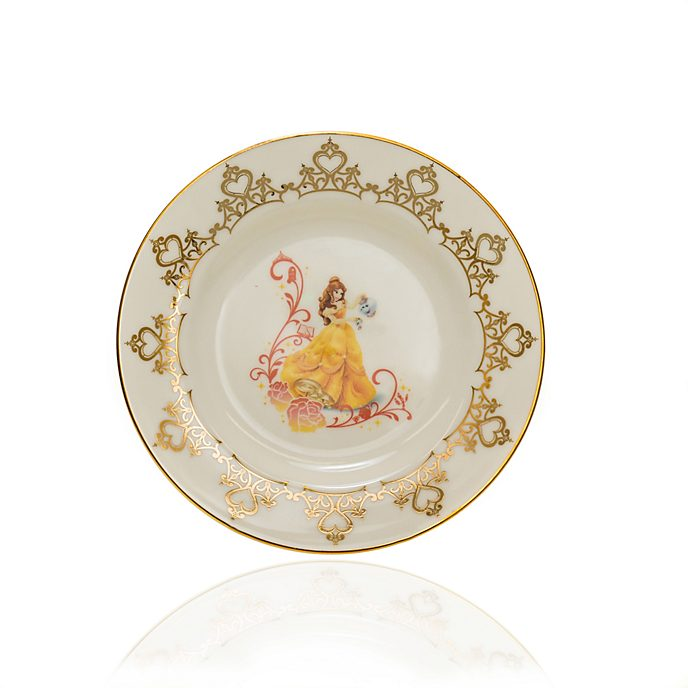 English Ladies Co. Assiette de collection Belle en porcelaine à la cendre d'os