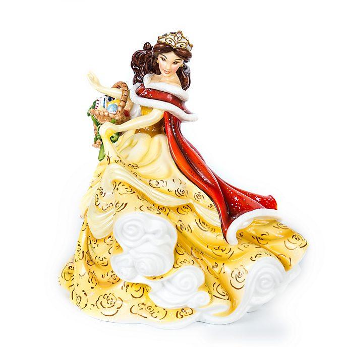 English Ladies Co. Figurine Belle en hiver en porcelaine fine