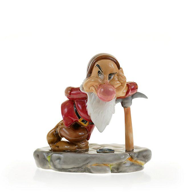English Ladies Co. Figurine Grincheux à la mine de diamants en porcelaine fine