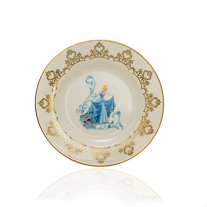 English Ladies Co. Assiette de collection Cendrillon en porcelaine à la cendre d'os