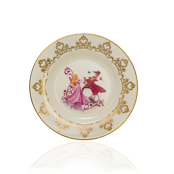 English Ladies Co. Plato de coleccionista porcelana de ceniza de hueso Bella Durmiente