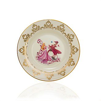 English Ladies Co. Plato de coleccionista porcelana de ceniza de hueso Bella Durmiente