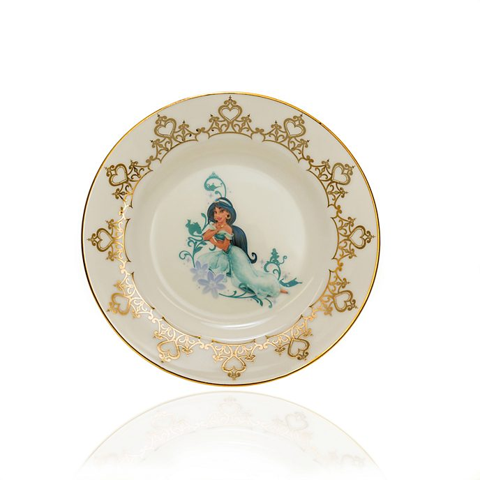 English Ladies Co. Plato de coleccionista porcelana de ceniza de hueso Jasmine