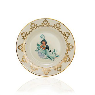 English Ladies Co. Plato de coleccionista porcelana de ceniza de hueso Jasmine