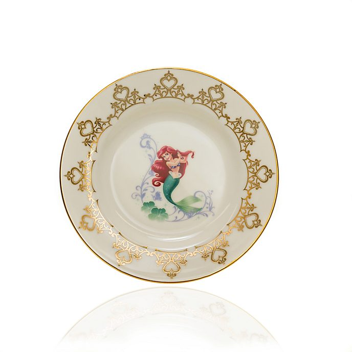 English Ladies Co. Plato de coleccionista porcelana de ceniza de hueso Ariel