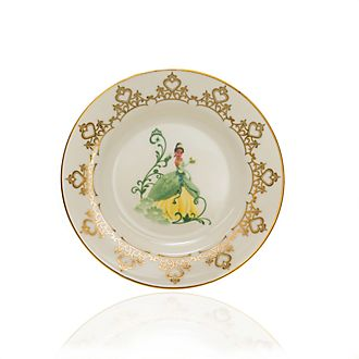 English Ladies Co. Assiette de collection Tiana en porcelaine à la cendre d'os