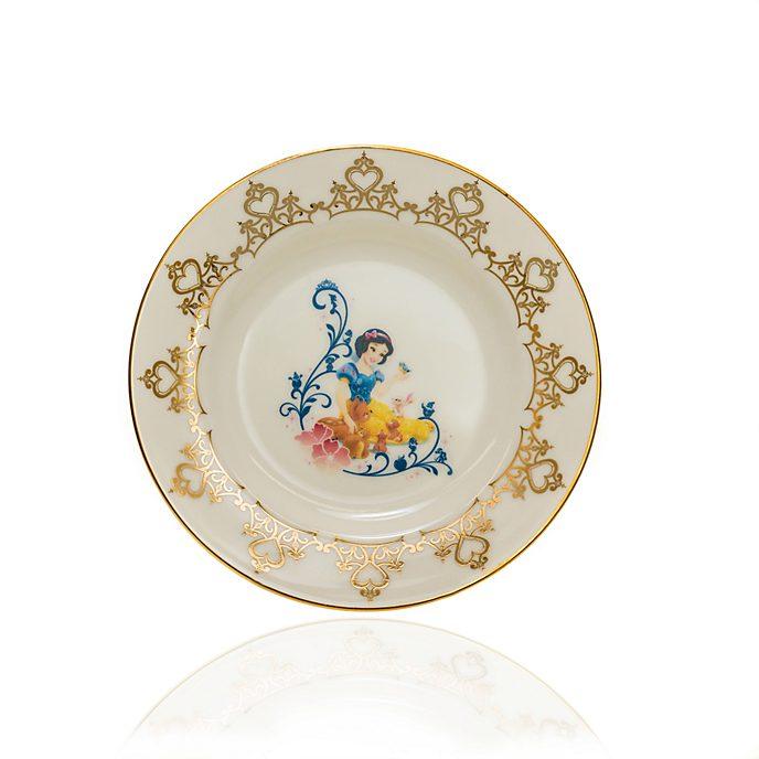English Ladies Co. Assiette de collection Blanche Neige en porcelaine à la cendre d'os