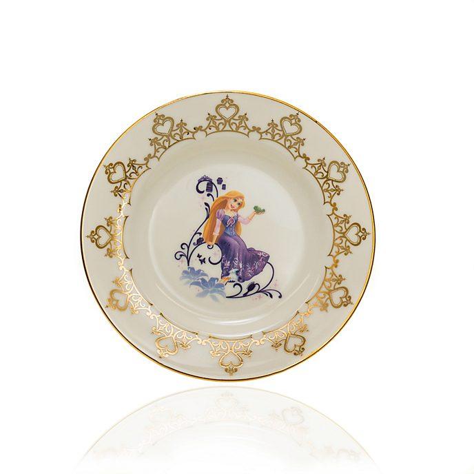 English Ladies Co. Assiette de collection Raiponce en porcelaine à la cendre d'os