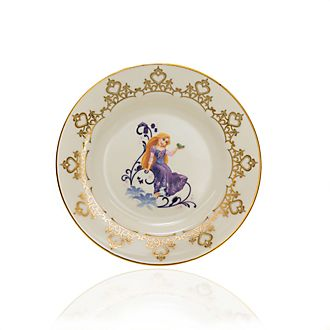 English Ladies Co. Assiette de collection Raiponce en porcelaine à la cendre d'os