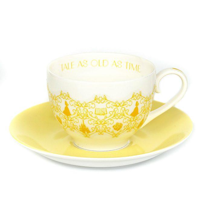 English Ladies Co. Tasse et soucoupe Belle en porcelaine fine