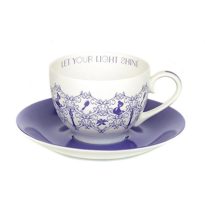 Tazza da tè e piattino in porcellana English Ladies Co. Rapunzel