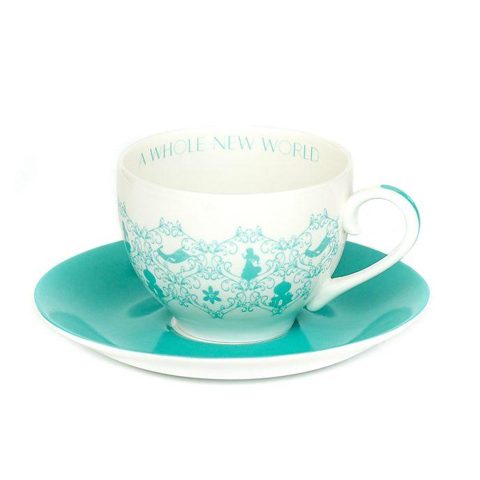 Tazza da tè e piattino porcellana English Ladies Co. Principessa Jasmine