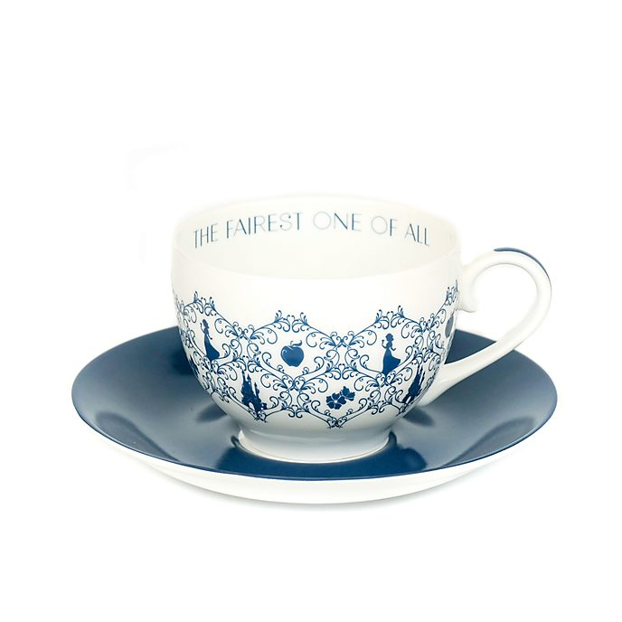 Tazza da tè e piattino porcellana English Ladies Co. Biancaneve