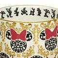 English Ladies Co. Tasse et soucoupe Minnie modernes en porcelaine fine