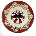 English Ladies Co. - Minnie Maus - Moderne Teetasse mit Untertasse aus feinstem Porzellan