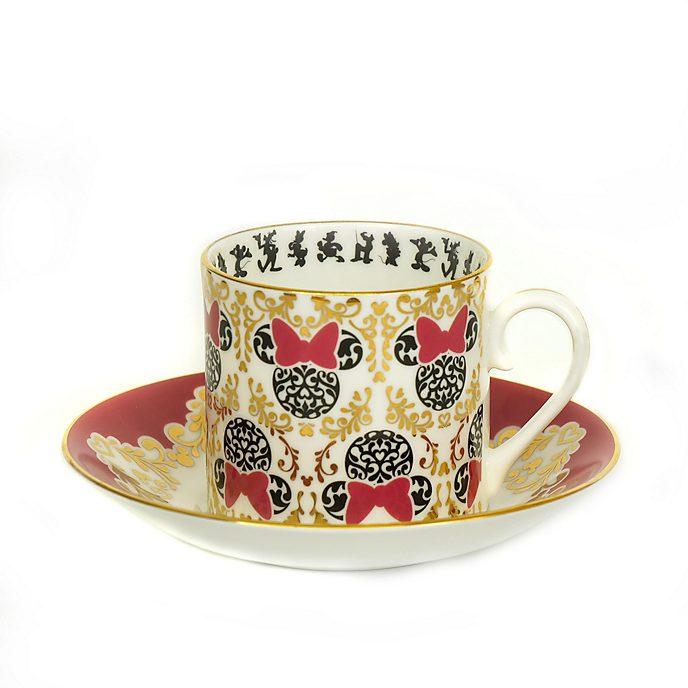 English Ladies Co. Bone China Modern Minnie Tea Cup and Saucer