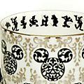 English Ladies Co. - Micky Maus - Teetasse mit Untertasse aus hochwertigstem Porzellan im Vintage-Stil