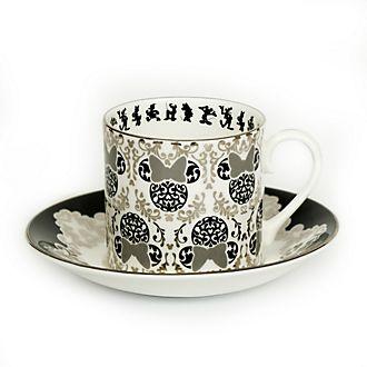Tazza da tè e piattino in porcellana in stile vintage Minni English Ladies Co.