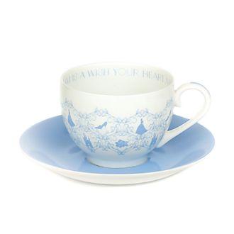 English Ladies Co. -Cinderella - Teetasse und Untertasse aus Porzellan