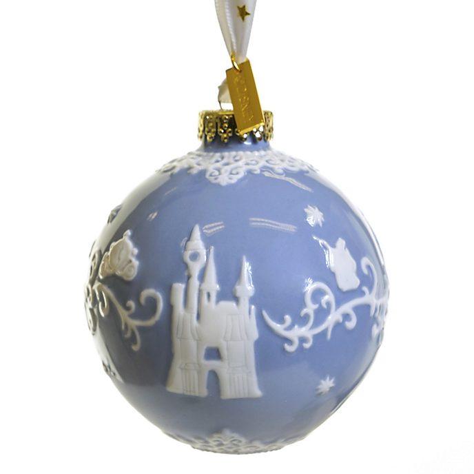 Decorazione da appendere in porcellana Cenerentola blu English Ladies Co.