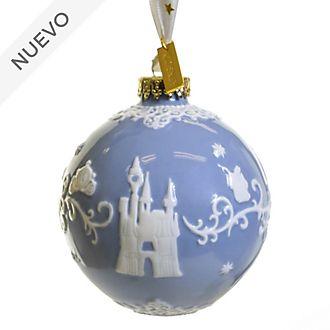 English Ladies Co. adorno colgante porcelana fina azul La Cenicienta