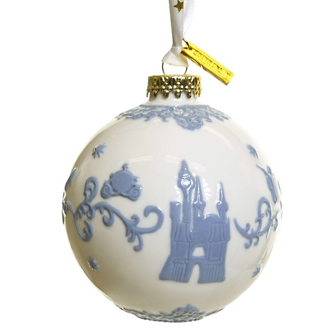 English Ladies Co. Cinderella White Fine China Hanging Ornament
