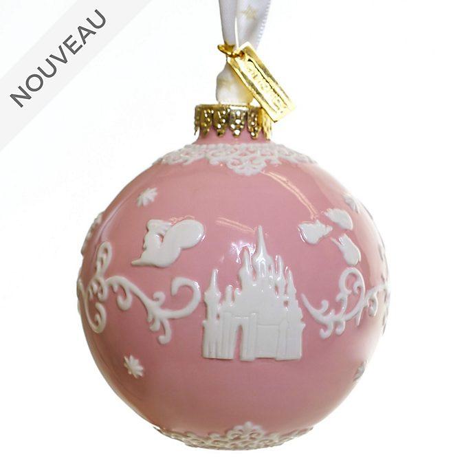 English Ladies Co. Boule La Belle au Bois Dormant rose en porcelaine fine