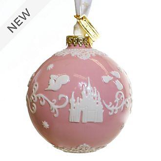 English Ladies Co. Sleeping Beauty Pink Fine China Hanging Ornament