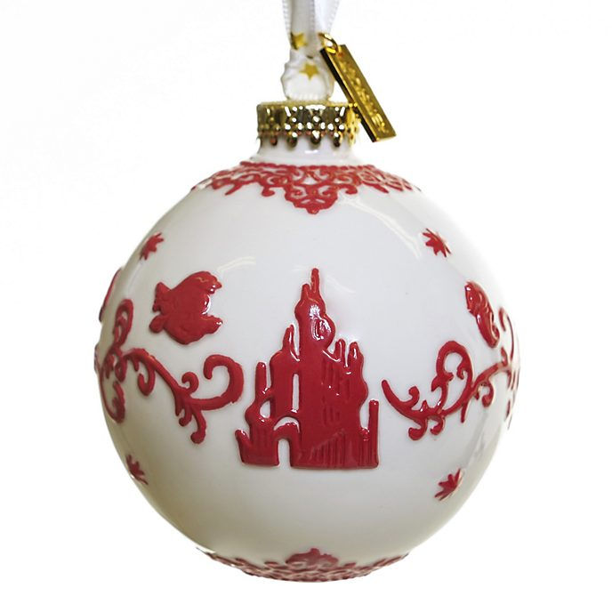 English Ladies Co. The Little Mermaid White Fine China Hanging Ornament