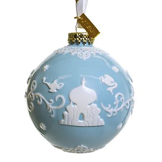 English Ladies Co. Boule Aladdin bleue en porcelaine fine
