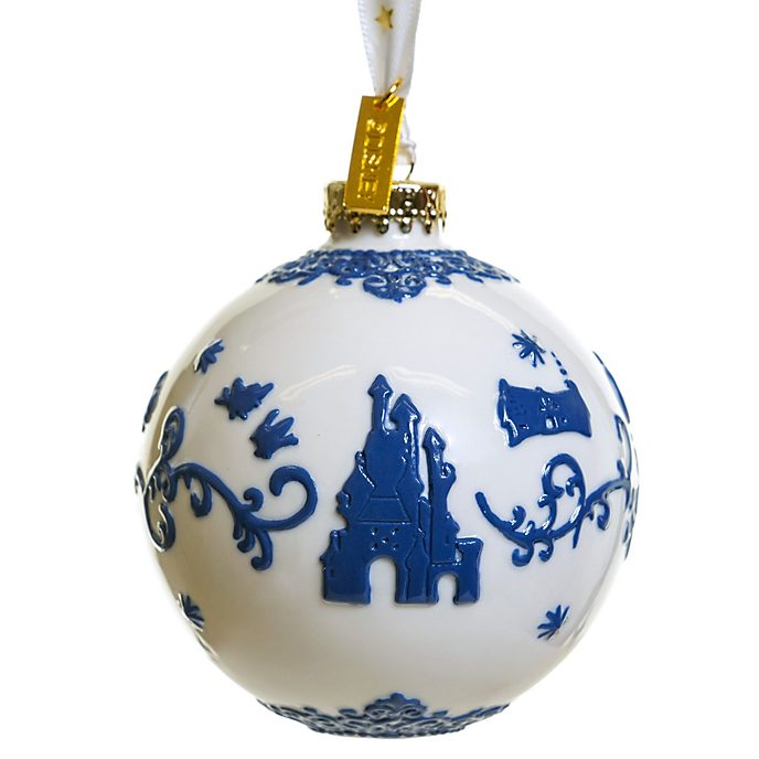 English Ladies Co. Snow White Fine China Hanging Ornament