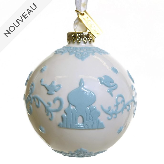 English Ladies Co. Boule Aladdin blanche en porcelaine fine