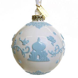 English Ladies Co. -Aladdin - Dekorationsstück aus hochwertigstem weißen Porzellan zum Aufhängen