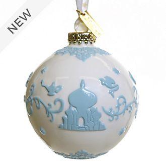 English Ladies Co. Aladdin White Fine China Hanging Ornament