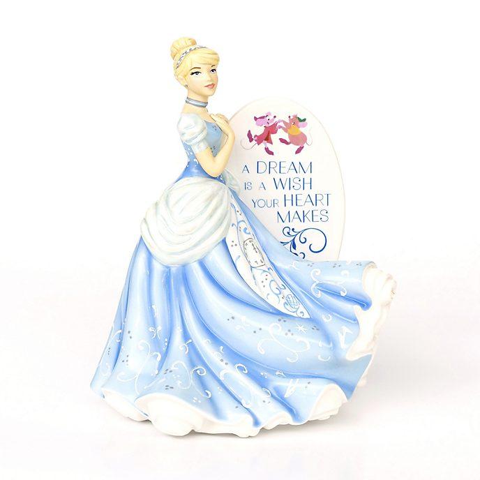English Ladies Co. Cinderella Bone China Flatback Figurine