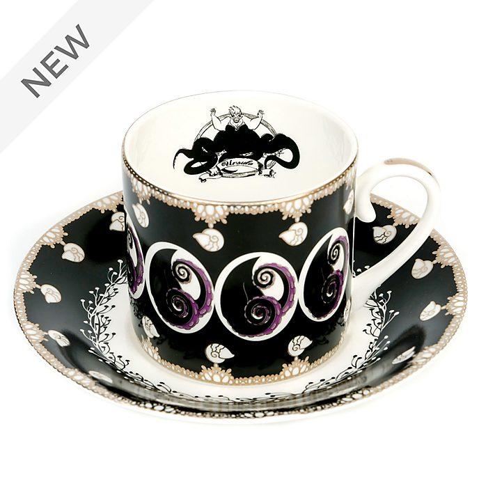 English Ladies Co. Ursula Fine Bone China Teacup and Saucer