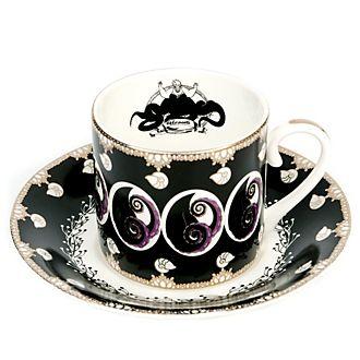 English Ladies Co.Théière et soucoupe Ursula en porcelaine fine