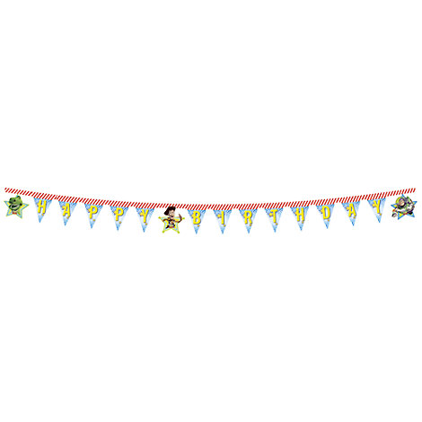 Toy Story Happy Birthday Banner
