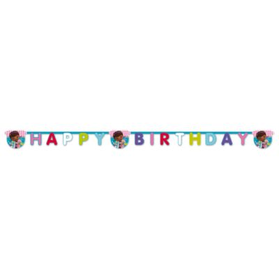 Doc McStuffins Happy Birthday Banner