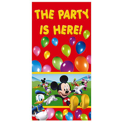 Cartel puerta de Mickey Mouse