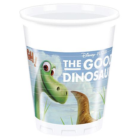 Den gode dinosaurien partymuggar, set med 8