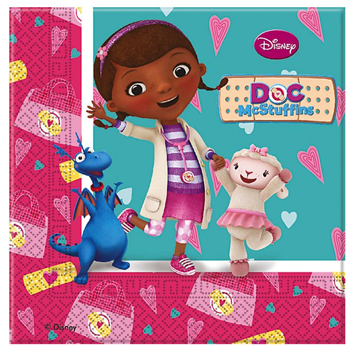 Doc McStuffins Spielzeugärztin - Partyservietten, 20er-Pack